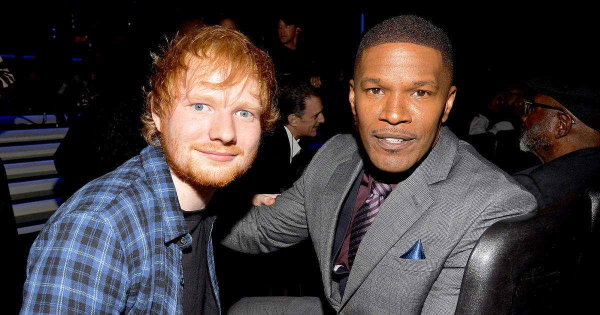 Jamie Foxx: Ed Sheeran Slept On My Couch Before He Was Famous