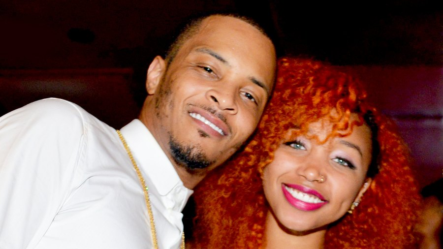 T.I. and Zonnique Pullins