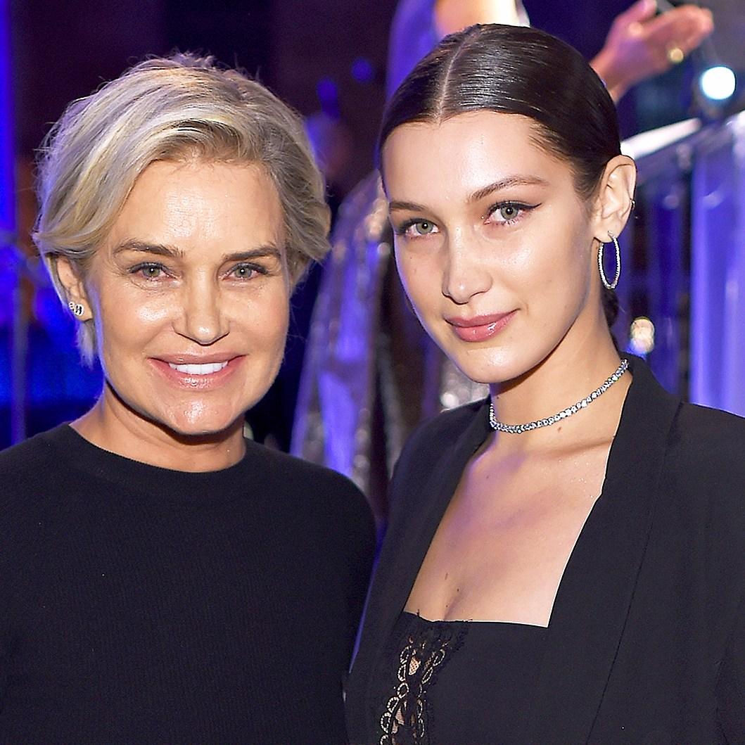 Yolanda Hadid and Bella Hadid