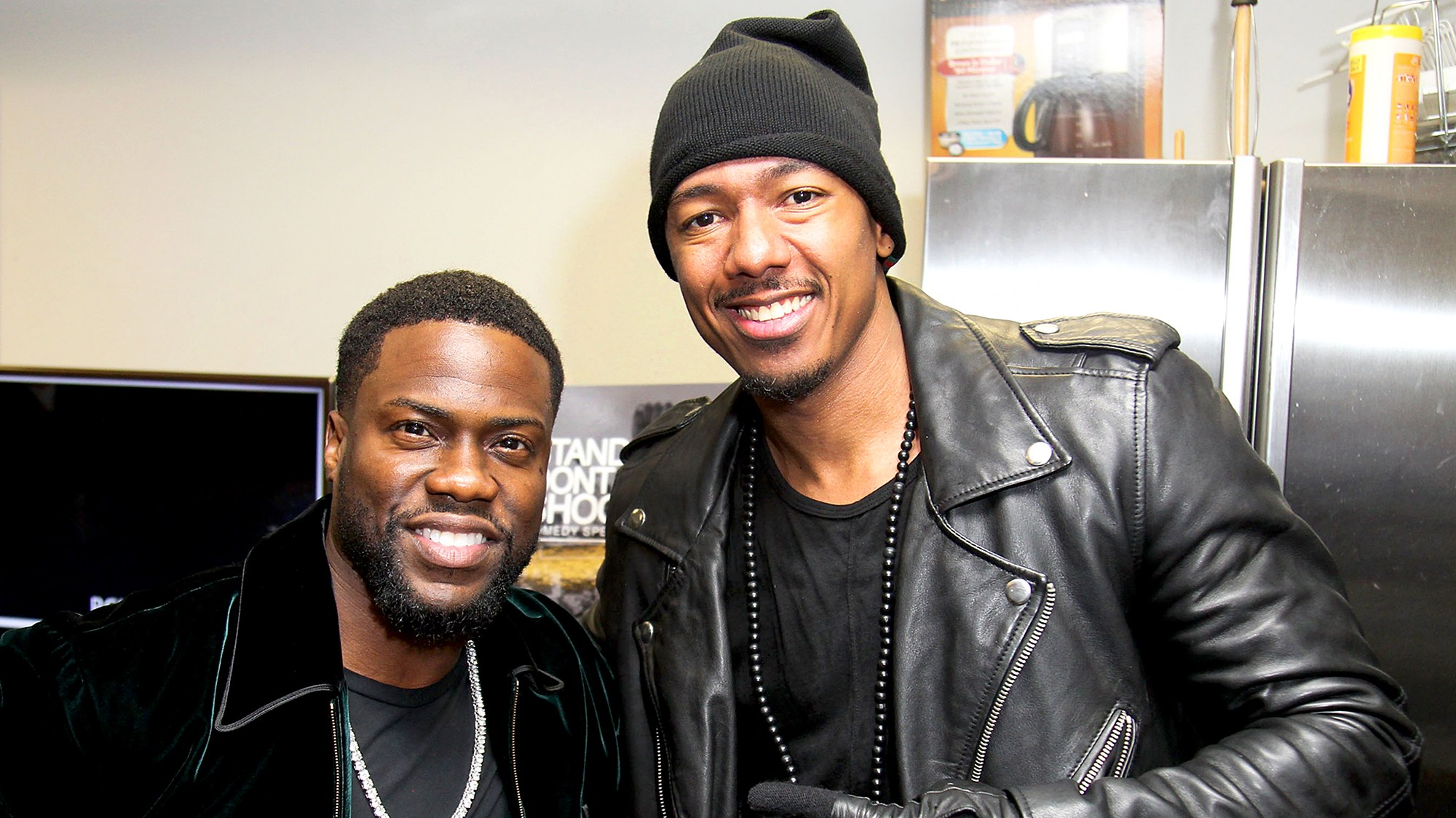 Kevin Hart and Nick Cannon