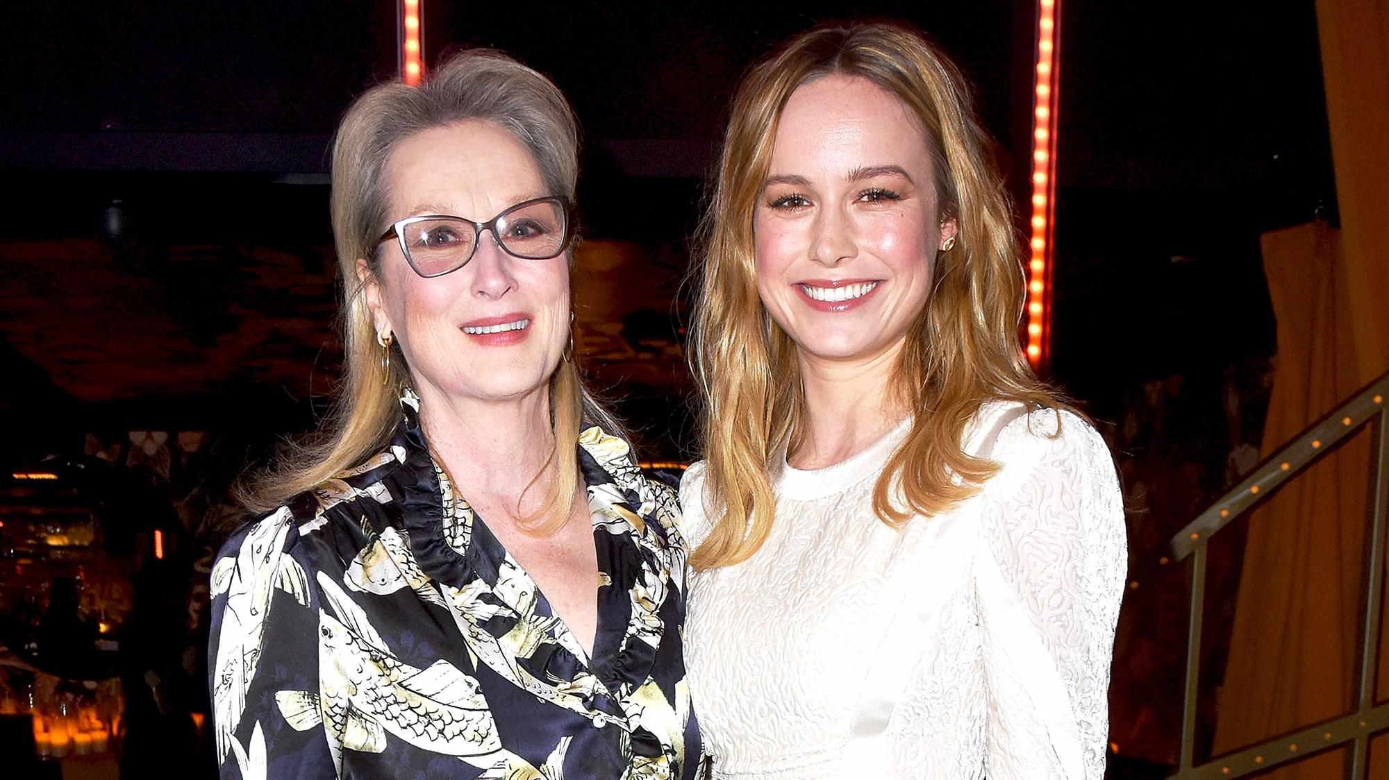 Meryl Streep and Brie Larson