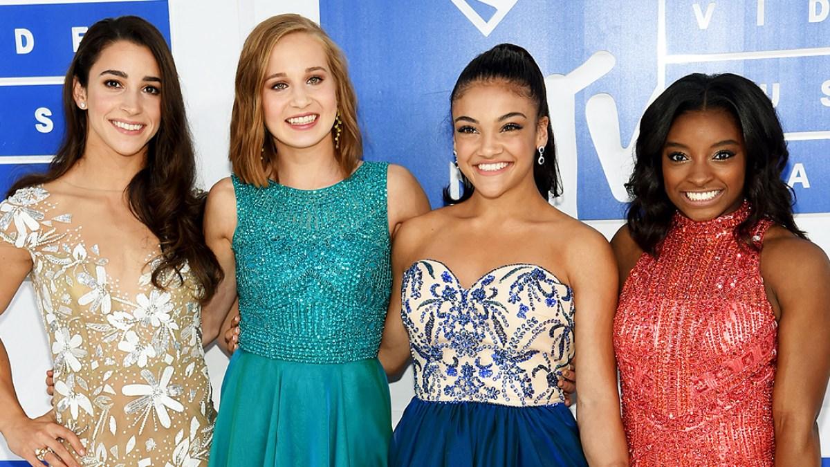 9dafda2a35f9c MTV VMAs 2016 Red Carpet: USA Women's Gymnastic Team Fashion
