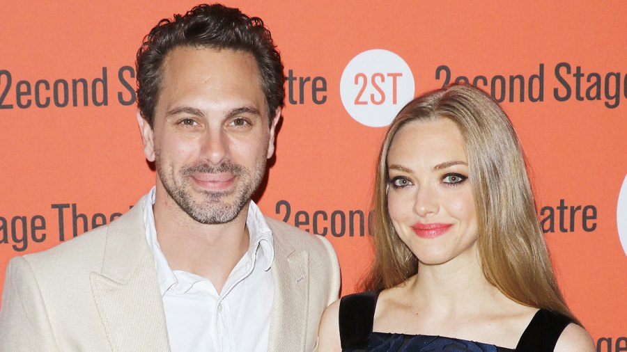 "Thomas Sadoski and Amanda Seyfried attend ""The Way We Get By"" opening night after party at Four at Yotel on May 19, 2015 in New York City."