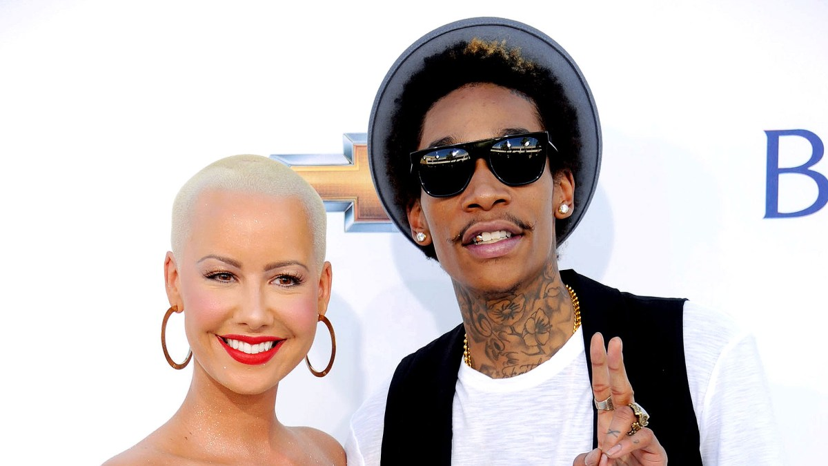 5bd407a0cf9 Amber Rose Never Loved Kanye West  Wiz Khalifa  Was the Only Man