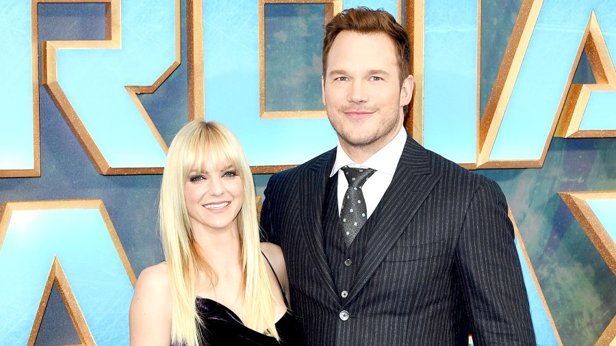 """Chris Pratt and Anna Faris attend the UK screening of """"Guardians of the Galaxy Vol. 2"""" at Eventim Apollo on April 24, 2017 in London, United Kingdom."""