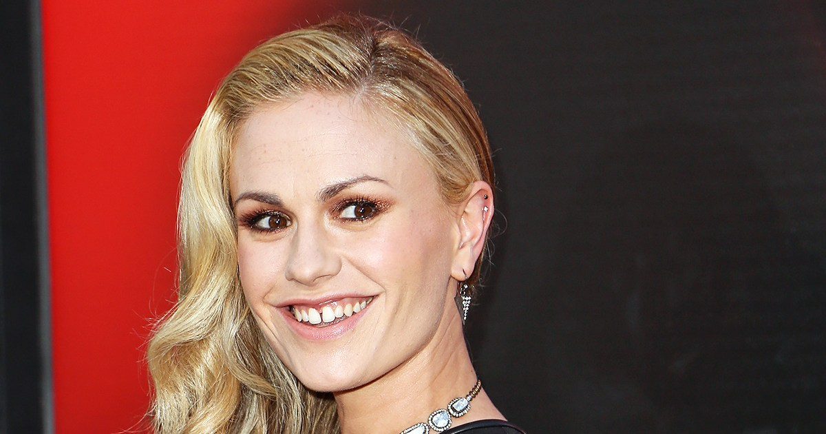 Anna Paquin Reacts To Seeing Her True Blood Sex Scene On -9239