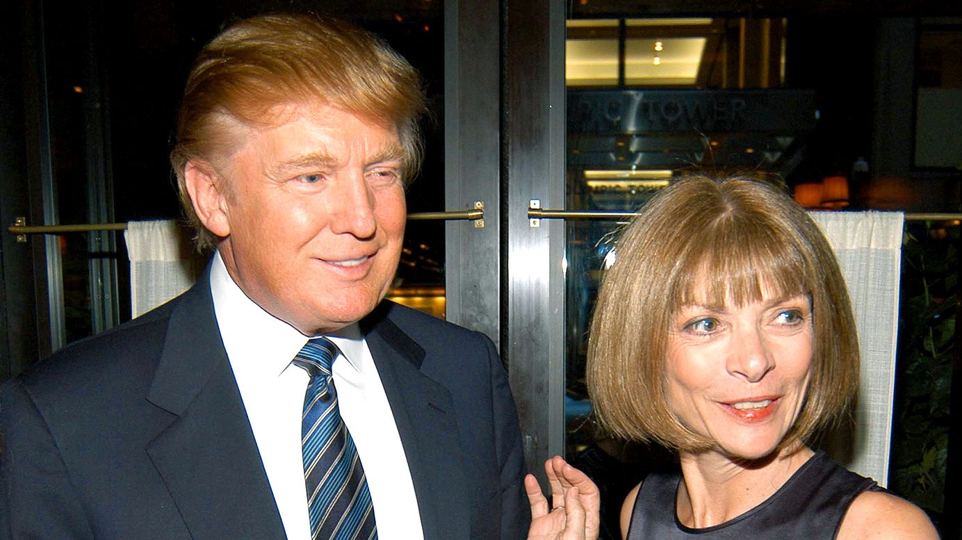 Donald Trump, Anna Wintour