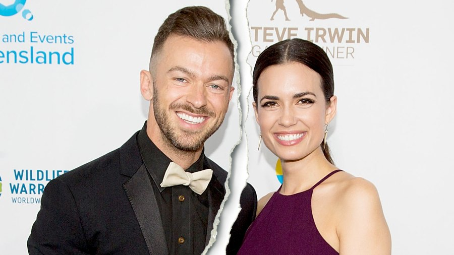 Artem Chigvintsev and Torrey DeVitto arrive for the Steve Irwin Gala Dinner at JW Marriott Los Angeles at L.A. LIVE on May 21, 2016 in Los Angeles, California.