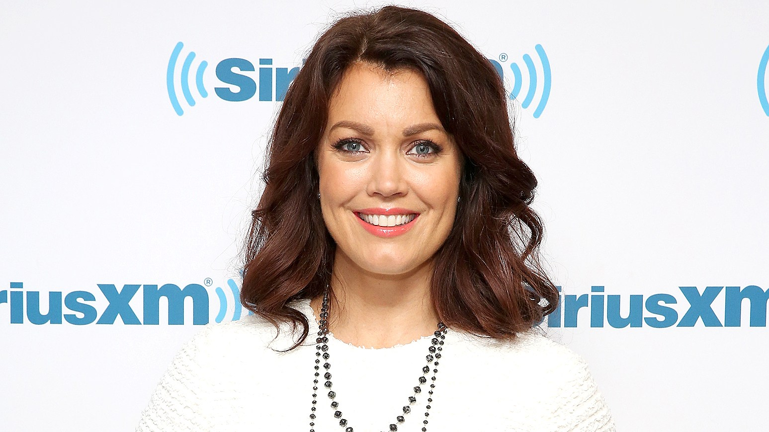 Bellamy Young visits at SiriusXM Studio on April 26, 2016 in New York City.