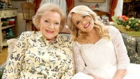 Betty White and Emily Osment on Young & Hungry