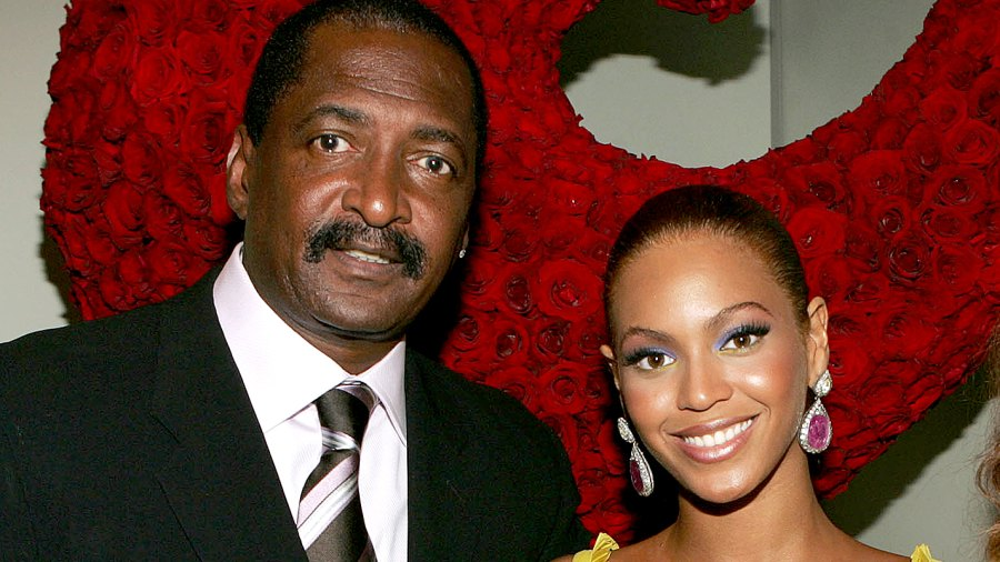Beyonce Knowles poses with her father Matthew Knowles in 2005.