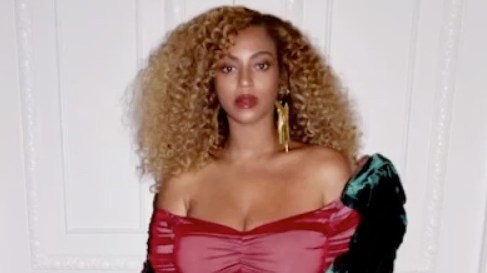 Beyonce Shows Off Post-Baby Body in Red Bodycon Dress