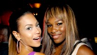 Beyonce Knowles and Serena Williams in 2006.