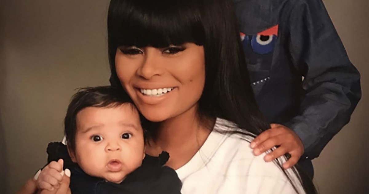 Blac Chyna Shows Her 'Unconditional Love' for Kids King and Dream in Classic Family Portrait