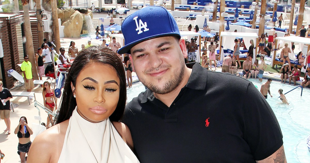Who is rob kardashian dating right now