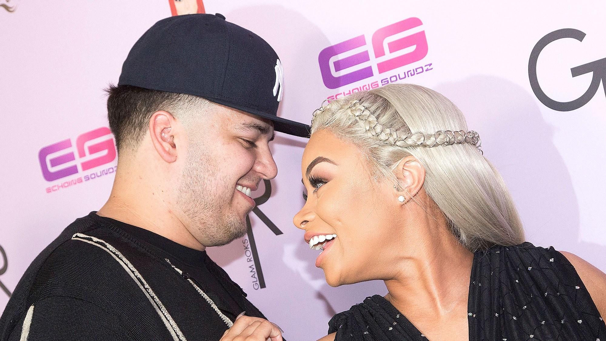 Rob Kardashian and Blac Chyna