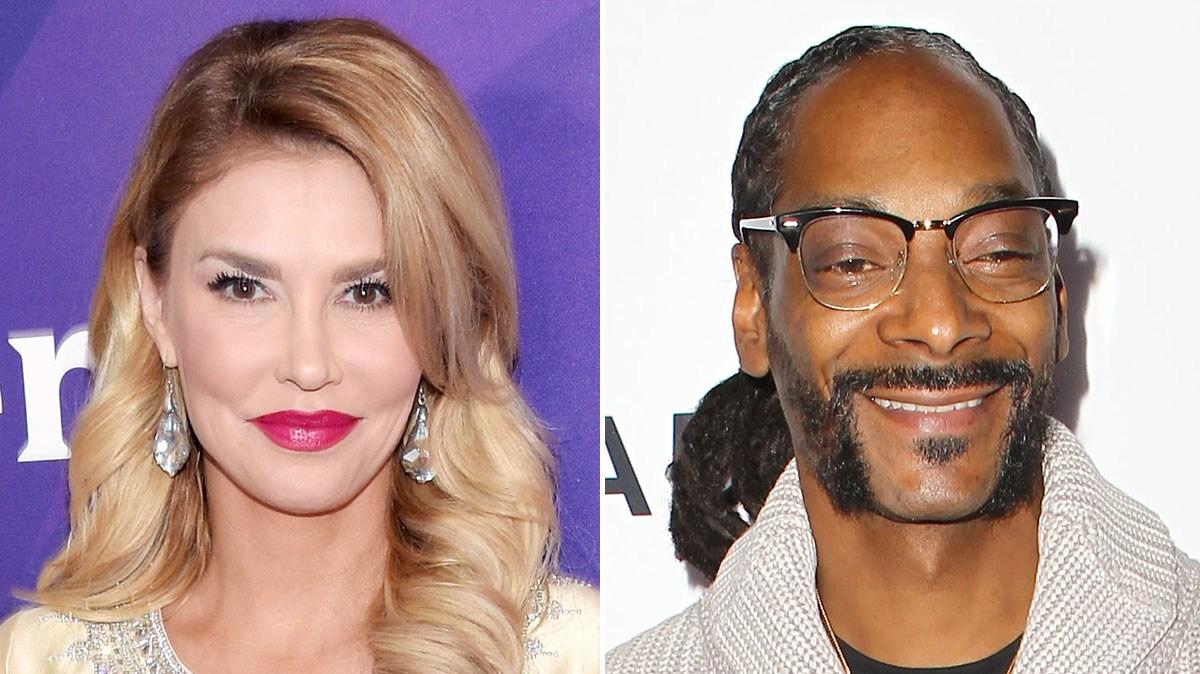 Brandi Glanville and Snoop Dogg