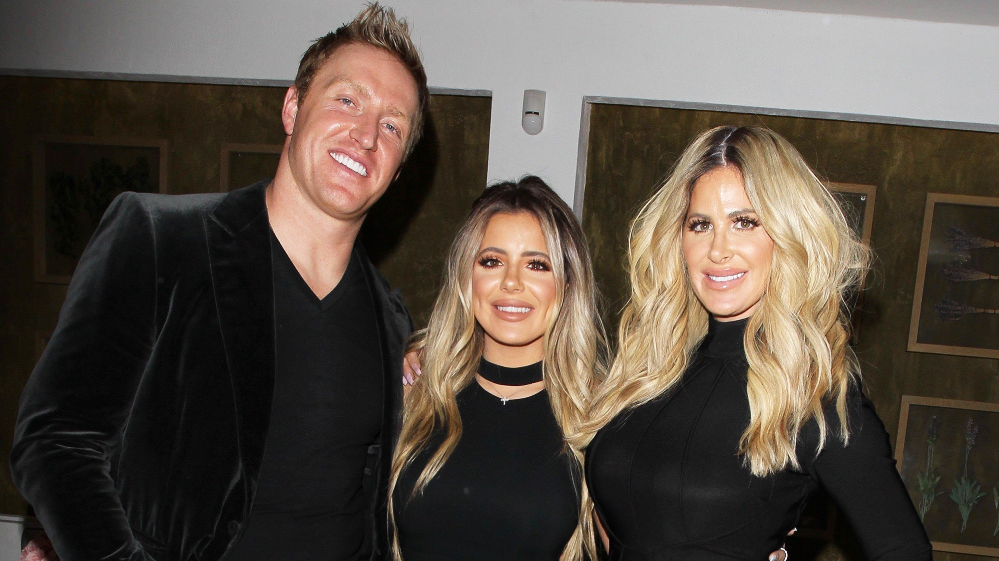 "Kim Zolciak celebrated Brielle's 20th birthday at ""Fig & Olive"" restaurant with Kroy Biermann"