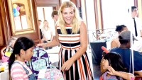 Busy Philipps hosts the Baby2Baby Back To School event at The Grove Los Angeles on August 3, 2016 in Los Angeles, California.