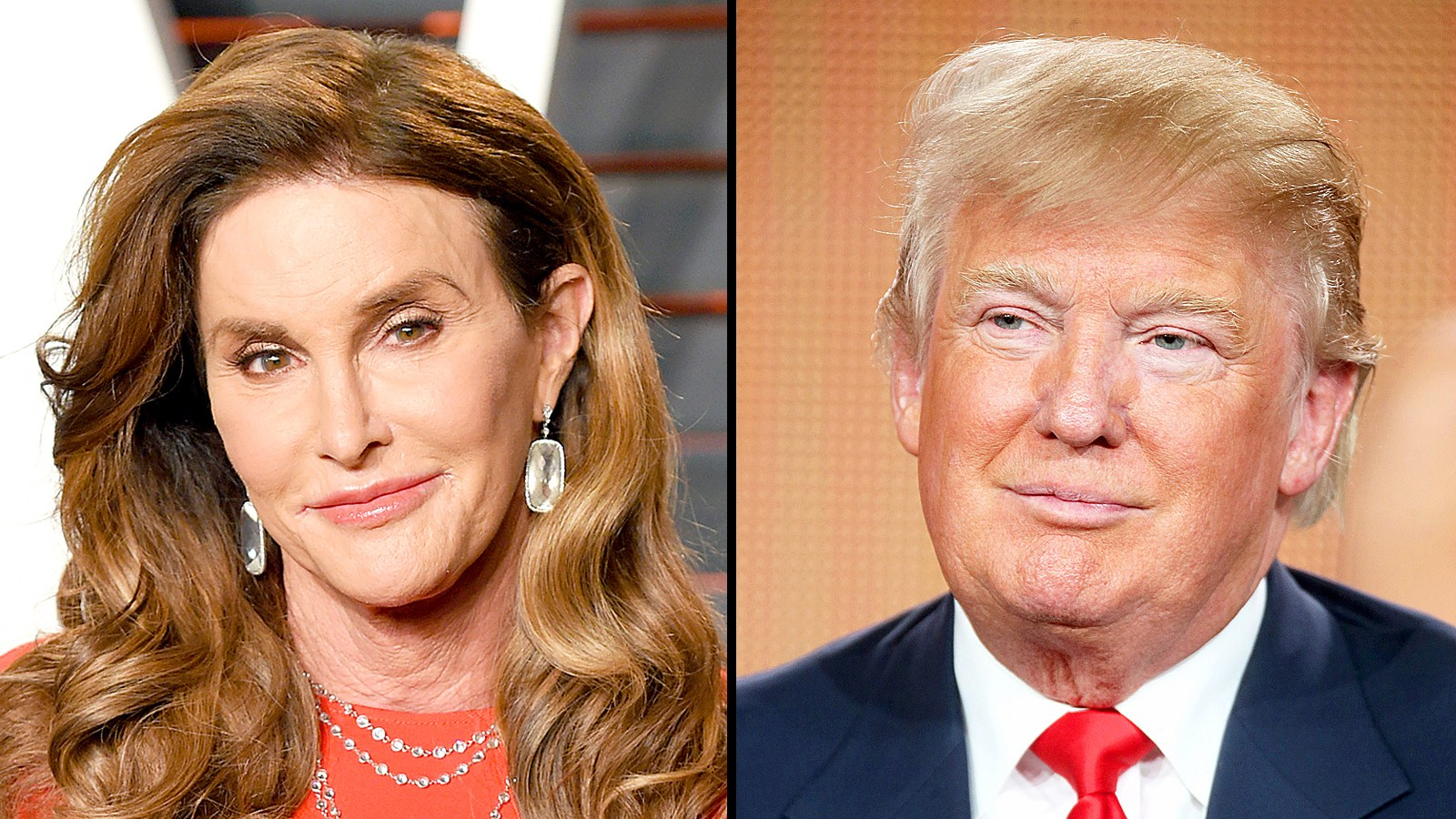 Caitlyn Jenner and Donald Trump