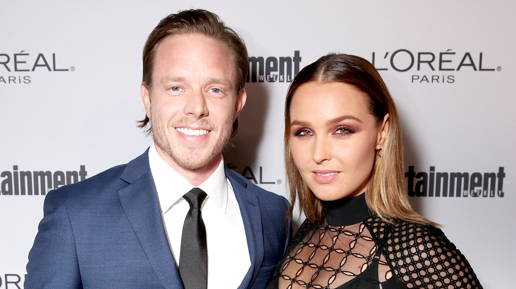 Matt Alan and Camilla Luddington attend the 2016 Entertainment Weekly Pre-Emmy party at Nightingale Plaza on September 16, 2016 in Los Angeles, California.