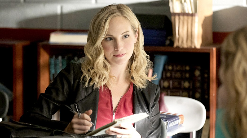 Candice King on The Vampire Diaries