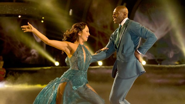 Cheryl Burke and Terrell Owens on Dancing With The Stars. ABC/Eric McCandless / ABC Via Getty Images