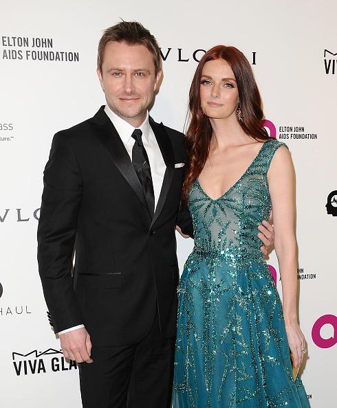 Lydia Hearst Chris Hardwick Marry in Romantic Wedding Ceremony