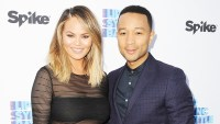 Chrissy Teigen and John Legend arrive at the FYC Event, Spike's 'Lip Sync Battle,' on June 14, 2016, in North Hollywood, CA.
