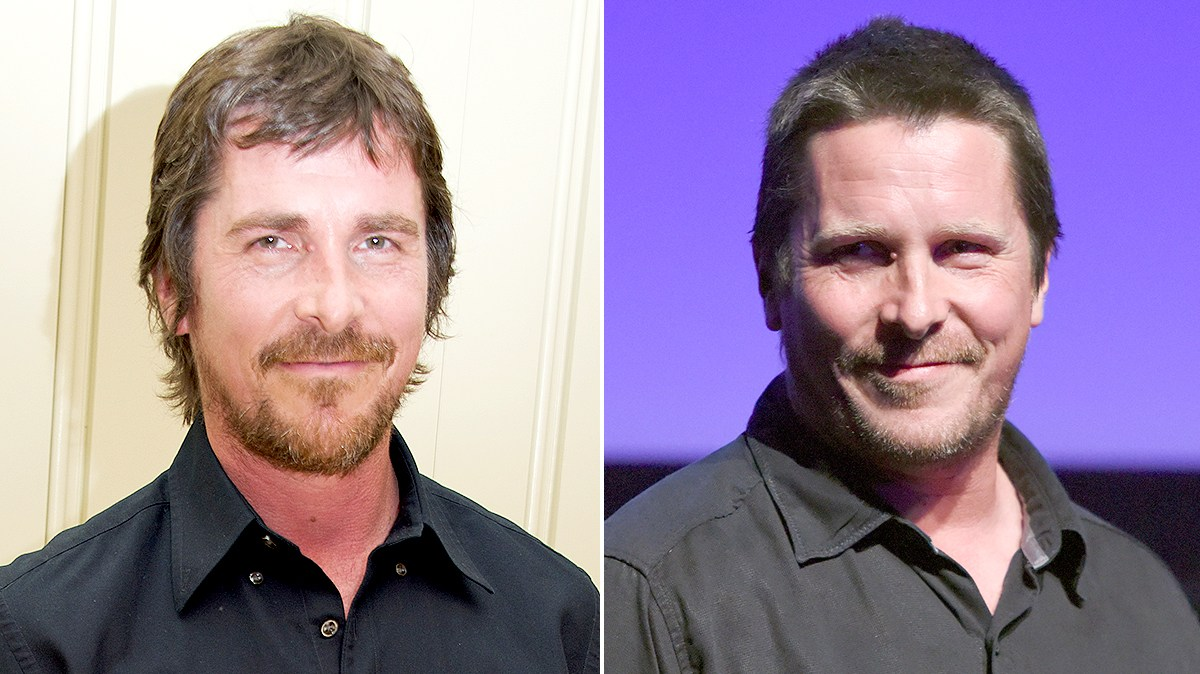 Christian Bale in April and Christian Bale in September.