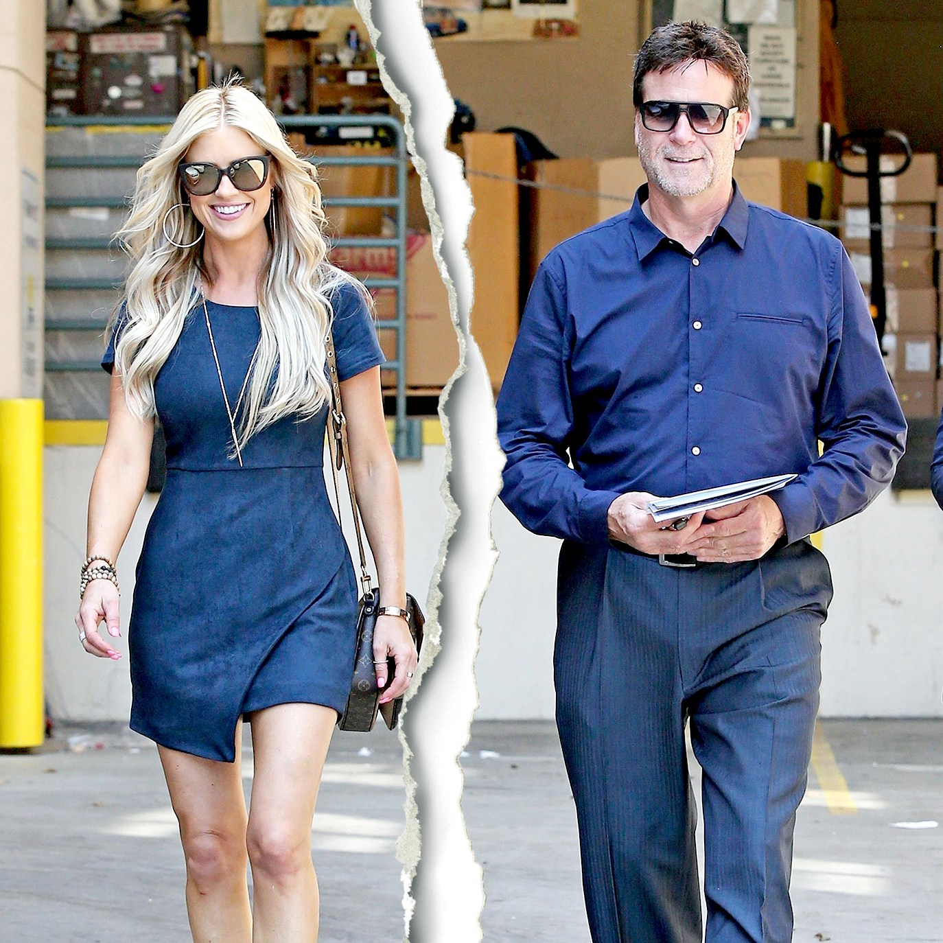 Christina El Moussa and Doug Spedding visit the Los Angeles Mission.
