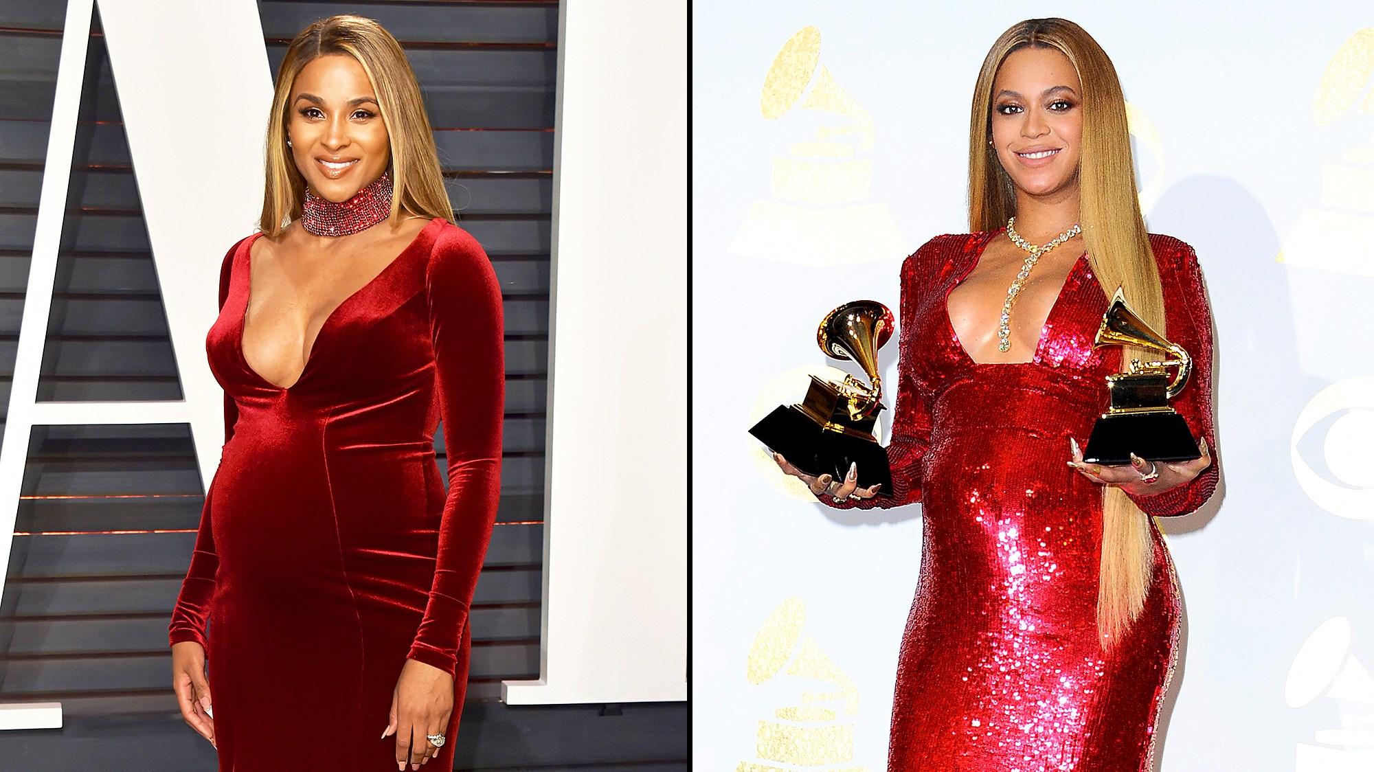 Ciara and Beyonce