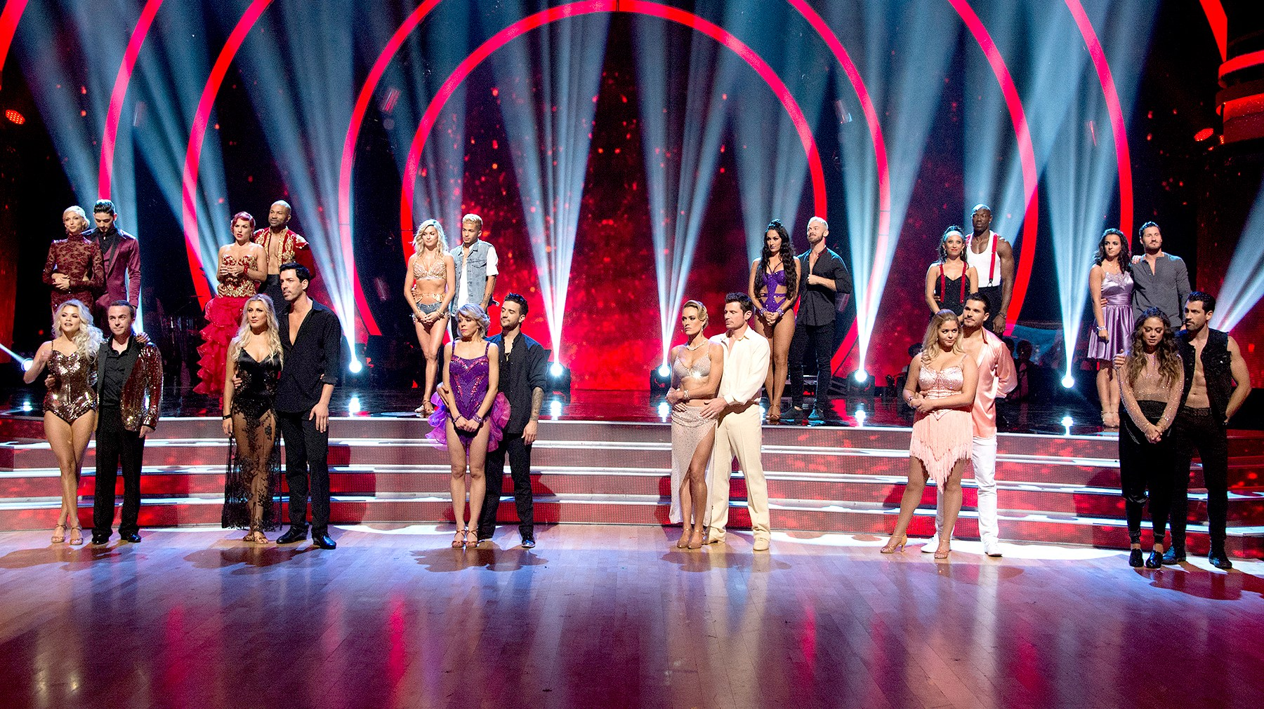 The cast of Dancing with the Stars.