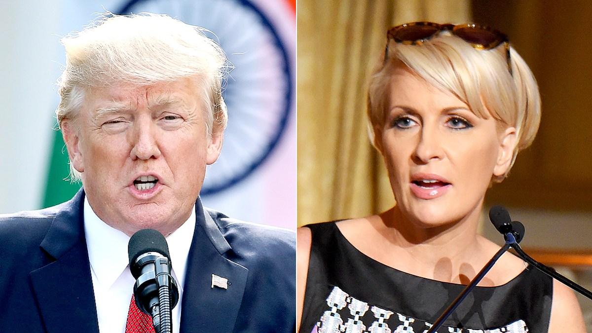 Donald Trump Claims Low Iq Mika Brzezinski Got A Face Lift