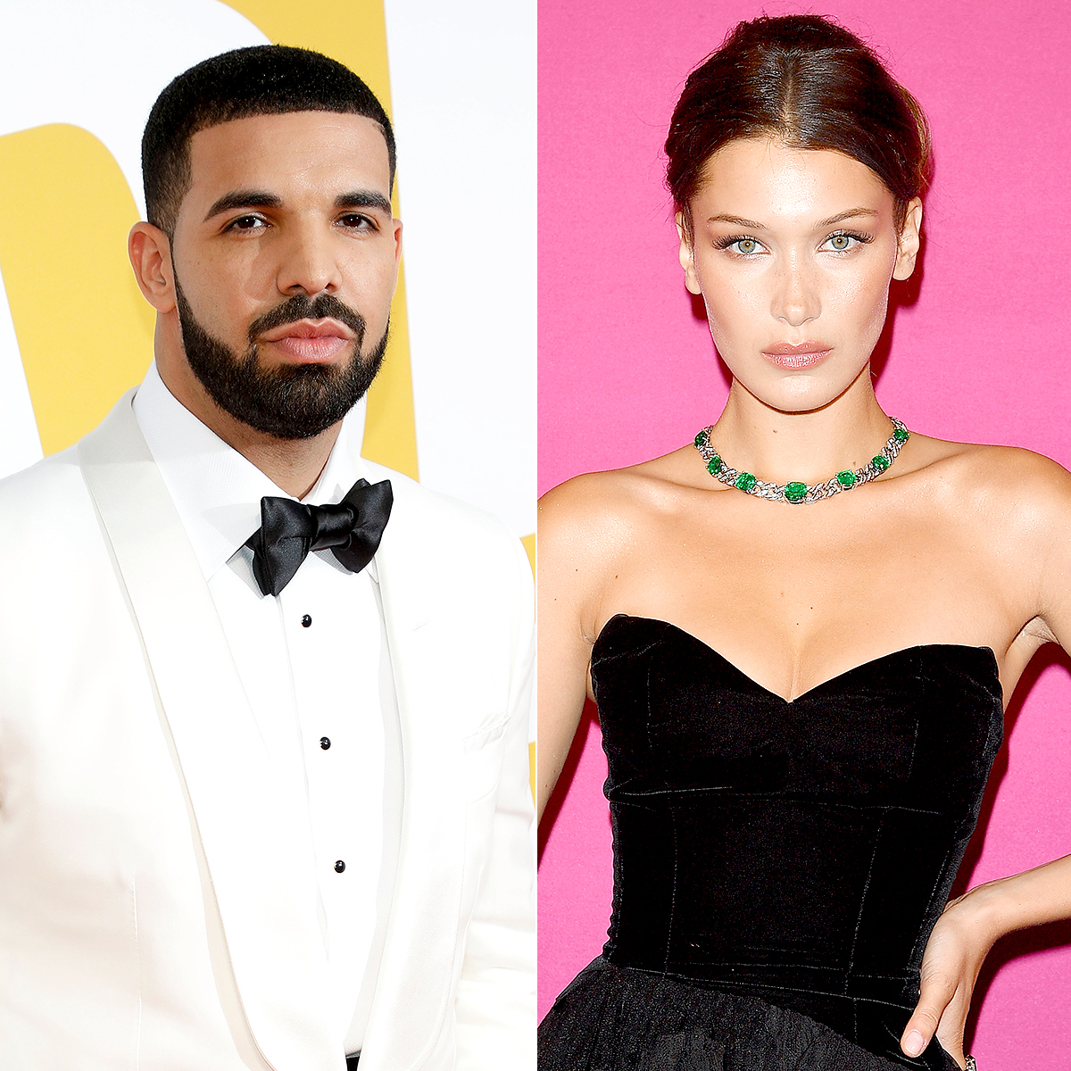 Drake and Bella Hadid
