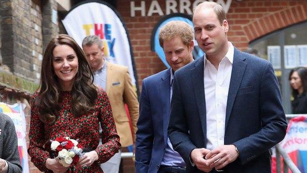 Catherine Duchess of Cambridge Prince William Prince Harry