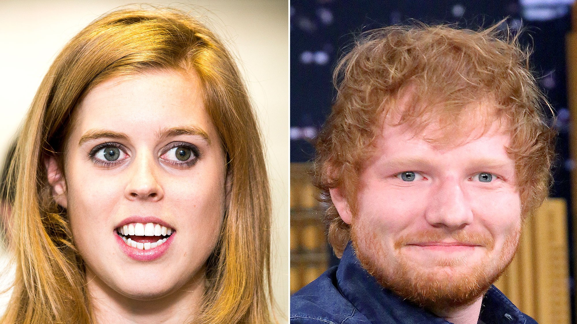 Princess Beatrice, Ed Sheeran