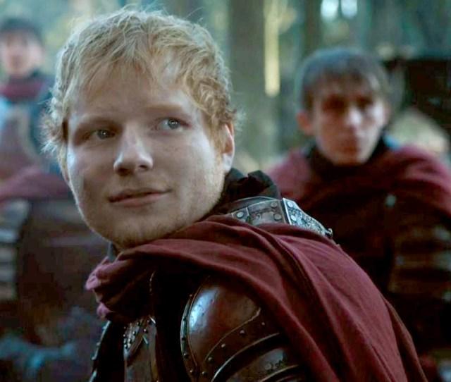 Ed Sheeran On Game Of Thrones