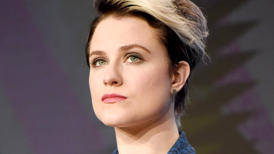 Evan Rachel Wood speaks onstage during the 'Westworld' panel discussion at the HBO portion of the 2016 Television Critics Association Summer Tour at The Beverly Hilton Hotel on July 30, 2016 in Beverly Hills, California.