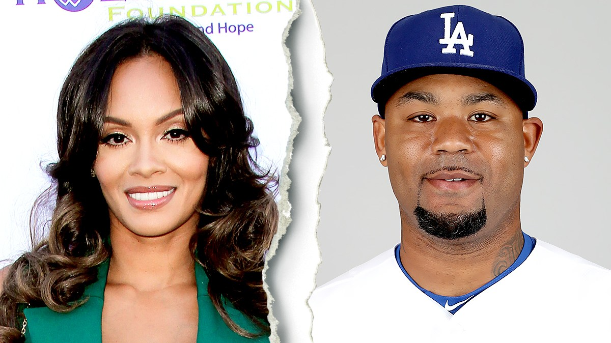Evelyn Lozada and Carl Crawford
