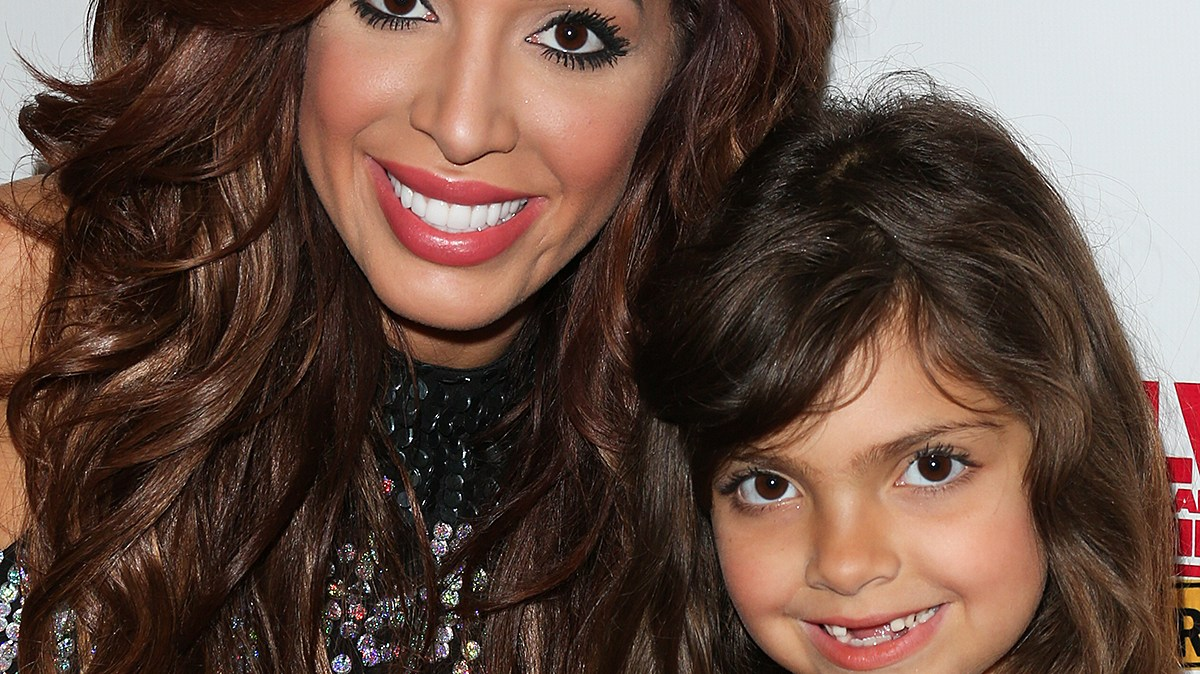 Farrah Abraham & daughter