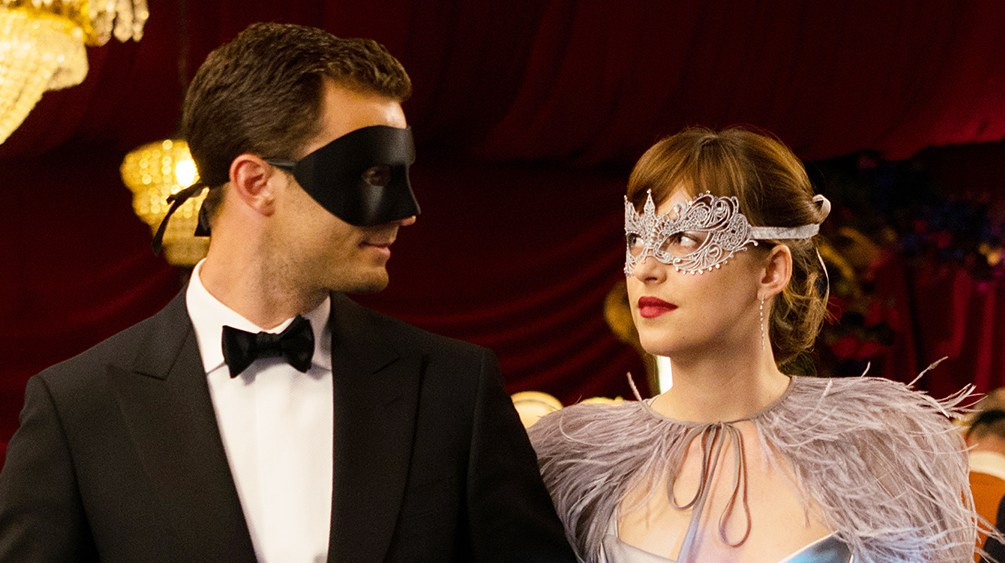 Jamie Dornan Dakota Johnson Fifty Shades Darker
