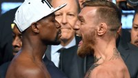 Floyd Mayweather Jr., Conor McGregor, boxer, UFC, fight