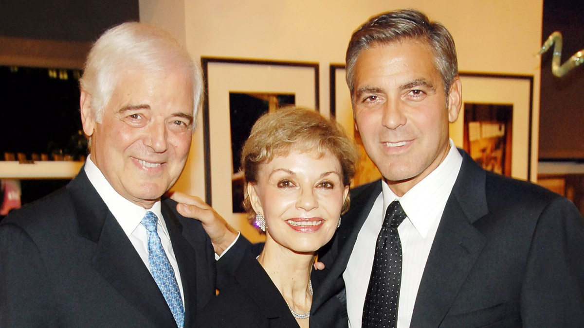 George Clooney's Dad: The Twins Are 'Gorgeous,' Have Dark Hair