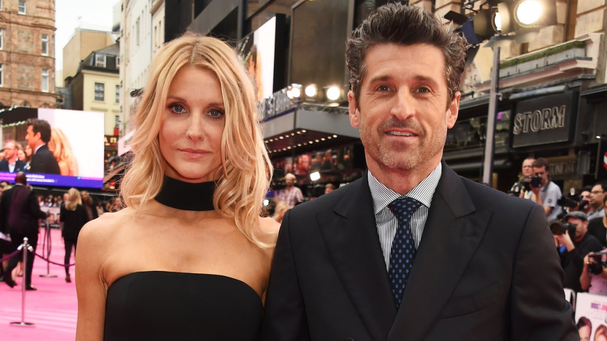 Patrick Dempsey Wife Jillian Writes Sweet Note For 18th Anniversary
