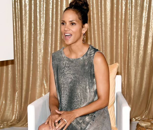 Halle Berry Attends The Kidnap Mamarazzi Screening At Time Inc Studios On August