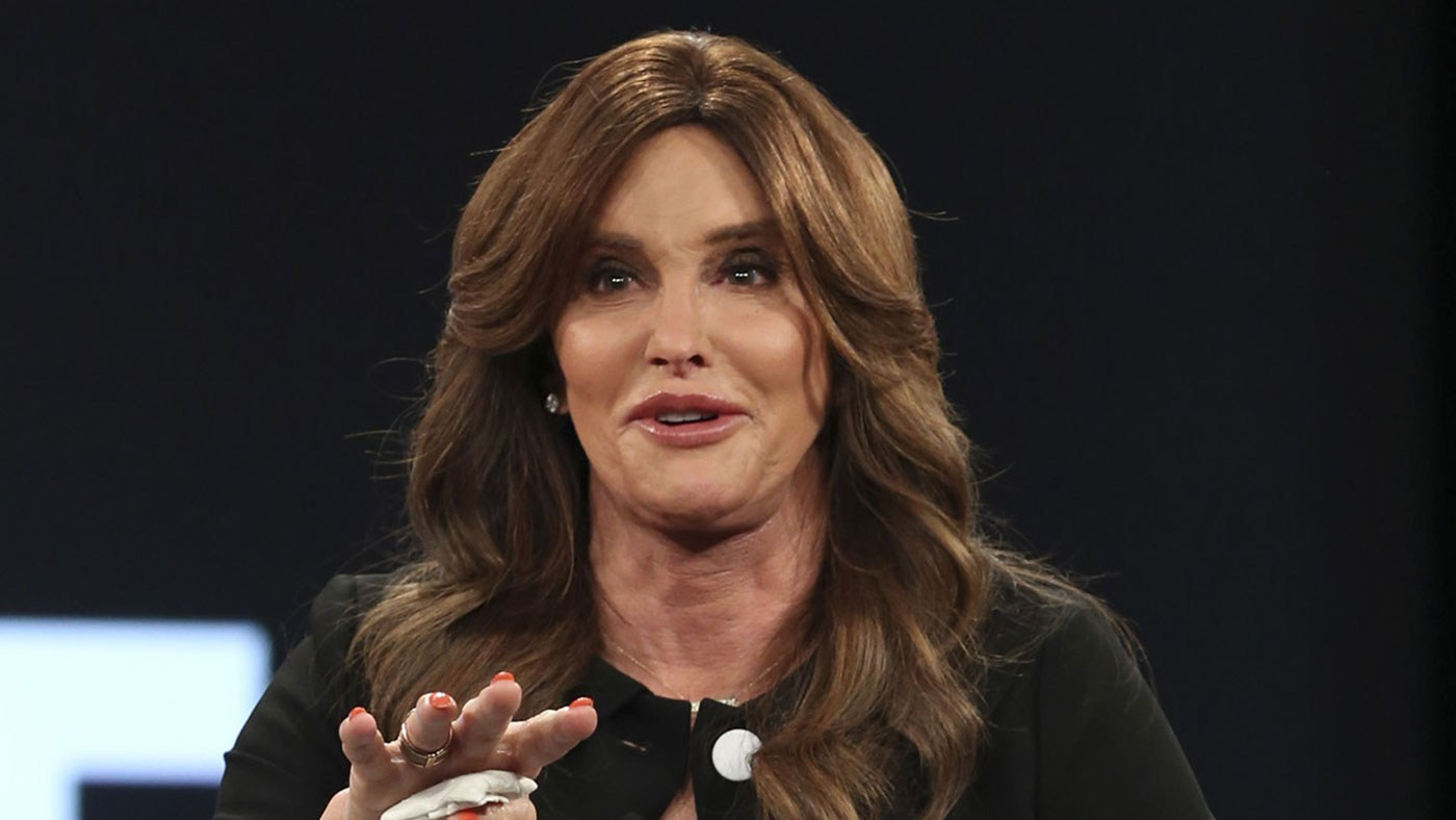 Caitlyn Jenner speaks on stage at the 2016 MAKERS Conference