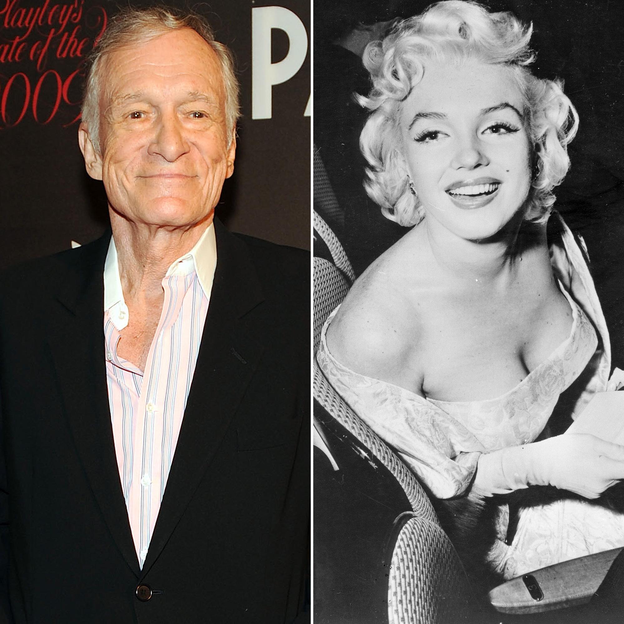 Hugh Hefner, Marilyn Monroe, Crypt