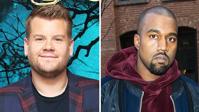 James Corden Kanye West