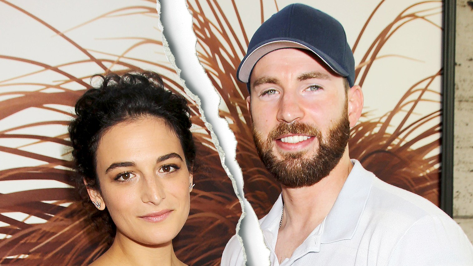 Jenny Slate and Chris Evans attend Universal Pictures and Illumination Entertainment Present The Premiere of 'The Secret Life of Pets' June 2016.